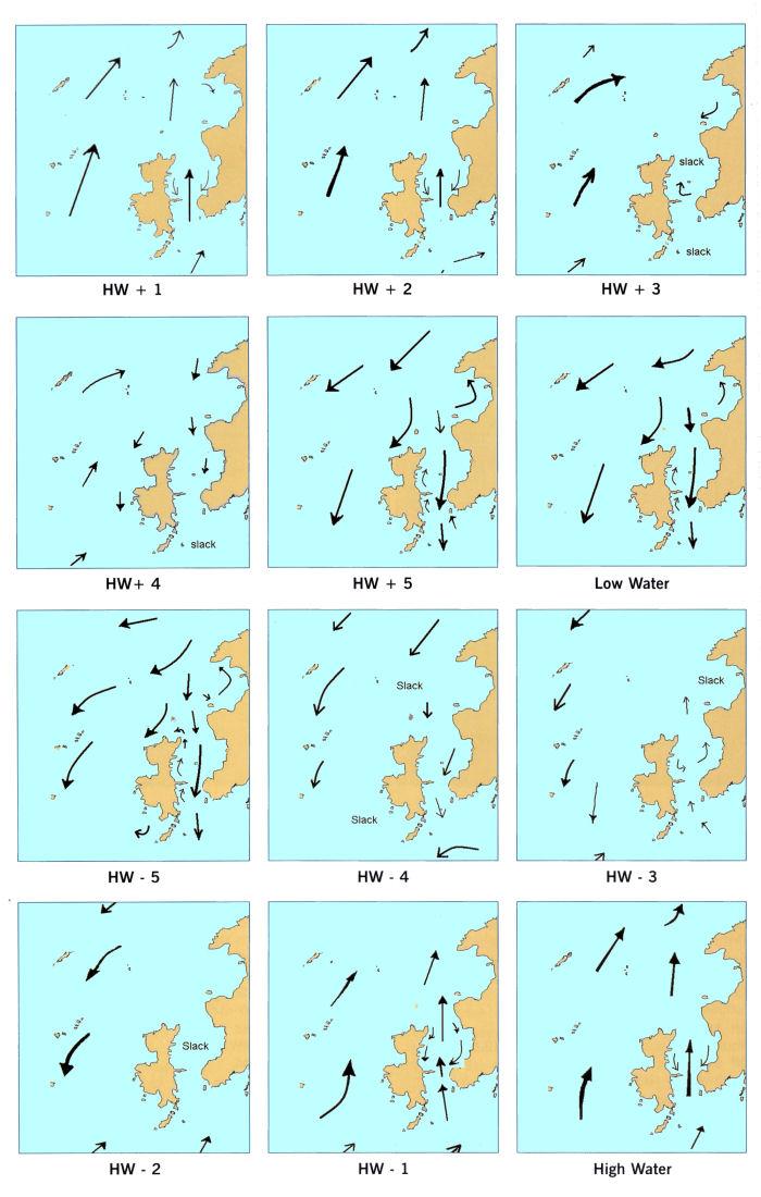 ramsay tides - Tide Flow Chart